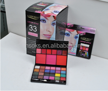 Hot selling products /lip/blusher/eyeshadow cool eyeshadow private