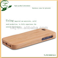 Luxury high quality natural bamboo case for iphone 5s,for bamboo iphone 5 case,solid wood bamboo mobile phone back cover housing