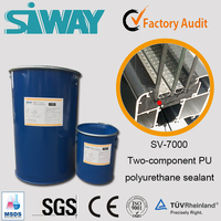 Two Component structural Silicone PU polyurethane Sealant for Insulating Glass Physical performance