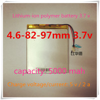 [L501] 3.7V,5000mAH,[468297] ; polymer lithium ion / Li-ion battery for tablet pc,power bank,onda,cube,ployer,Vido,PIPO