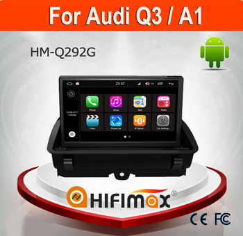 Hifimax Andriod 7.1 car navigation FOR AUDI Q3 A1 WITH CANBUS 2G RAM QUAD CORE WIFI 3G INTERNET DVR