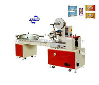 SM600 Full Automatic Pillow Chocolate Covered Candy Packing Machine