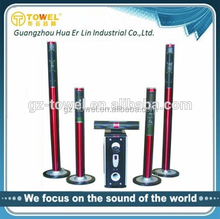 5.1 tower home theater speaker wholesale in factory price