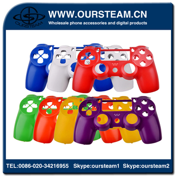 new arrival For PS4 Shell Hard Case For PS4 Controller hydro dipping Case