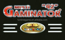 multi game gaminator games / gambling slot board