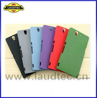 2013 New Arrival Rock Plastic Cover Hard Case For Sony Xperia Z Back Cover,Laudtec