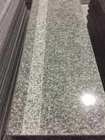 Grey Granite Stairs,Cheap G623 Granite Stone Stairs For Building Material