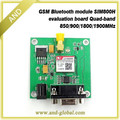 Free shipping GSM Shield development board,GPRS Shield based on SIM800H SIMCOM SMS MMS GSM