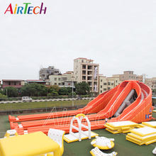 WAVY!! giant inflatable water slide for adult