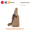 casual cross bag sling backpacks China vintage canvas men chest bag