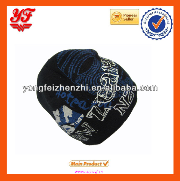 Custom Logo Knitted Hat For winter sports