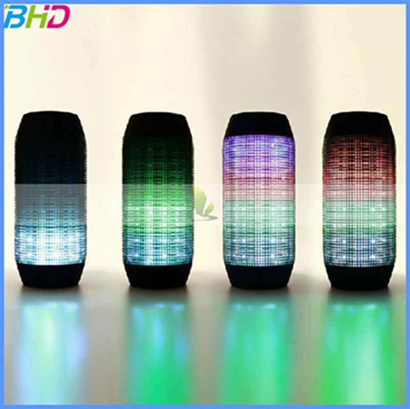 2016 Colorful outdoors sports wireless led bluetooth speaker portable mini bluetooth speaker bluetooth shower ledlight speaker