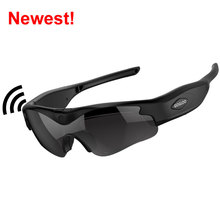 OEM factory new wifi HD spy sunglasses camera ,mini camcorder