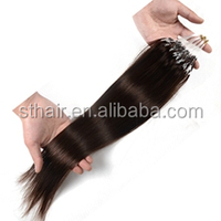 2013 best selling purple and pink loop hair extension/micro ring hair
