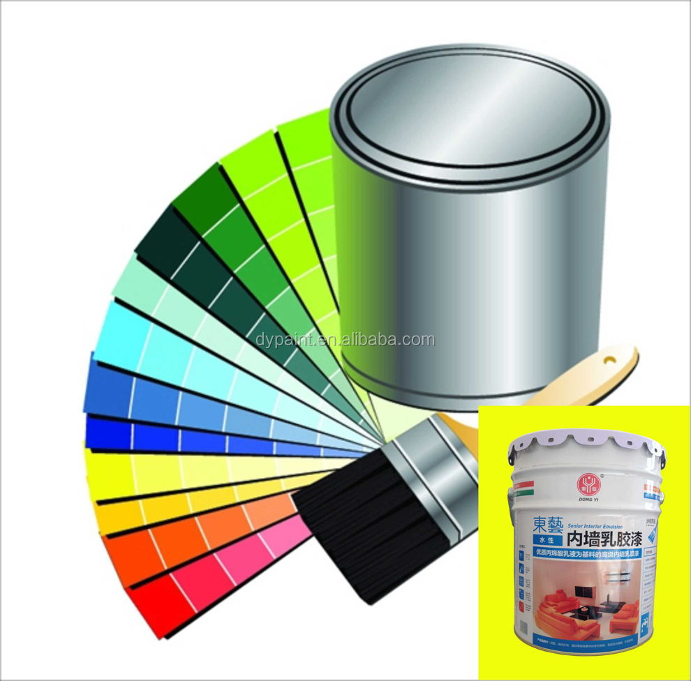 premium high gloss washable water-based acrylic emulsion interior wall paint