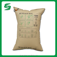 "48"" x 60"" Kraft Paper Dunnage Air Bag - 2-Ply"