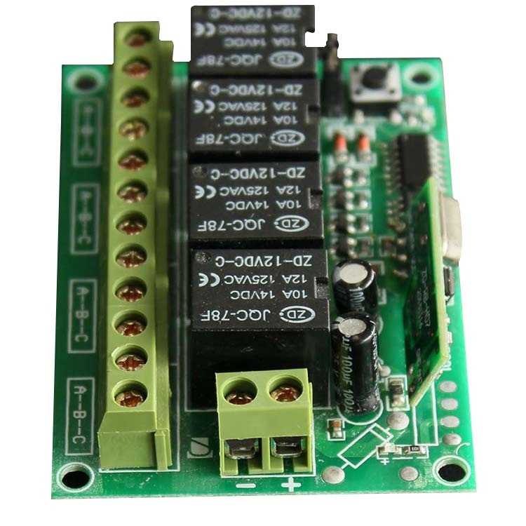 4 Channels Receiver universal can be customized