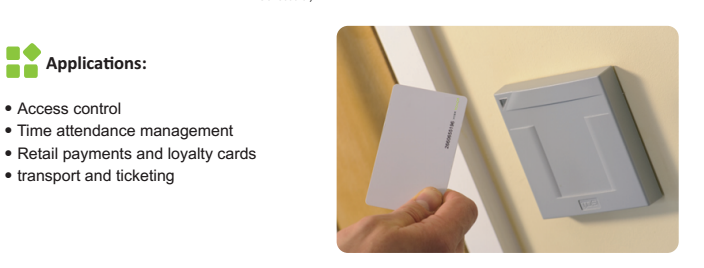 Contactless rfid T5577 hotel key card with chip