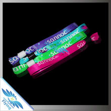 2016 Specialing in Smooth Polyester Wristband