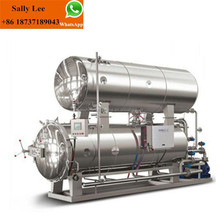 Industrial Stainless Steel Steam Food Sterilization Pot For Sale