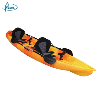 Wholesale 2 person sit on top double ocean pedal drive kayak