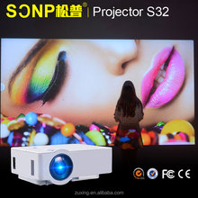 High quality Full HD 1080P 3D Home Theater projector Cinema Laptop 1800Lumens Mini Pocket digital led Projector
