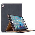 "Premium Tan Leather Wallet Case for Apple iPad Pro 9.7"" 2016"