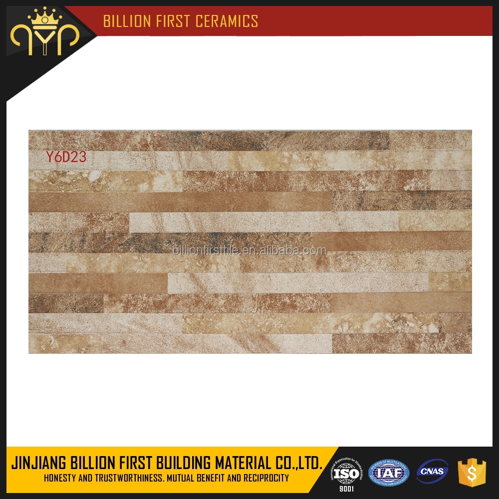 300x600mm discontinued bathroom and kitchen 3d rustic glaze ceramic wall tile