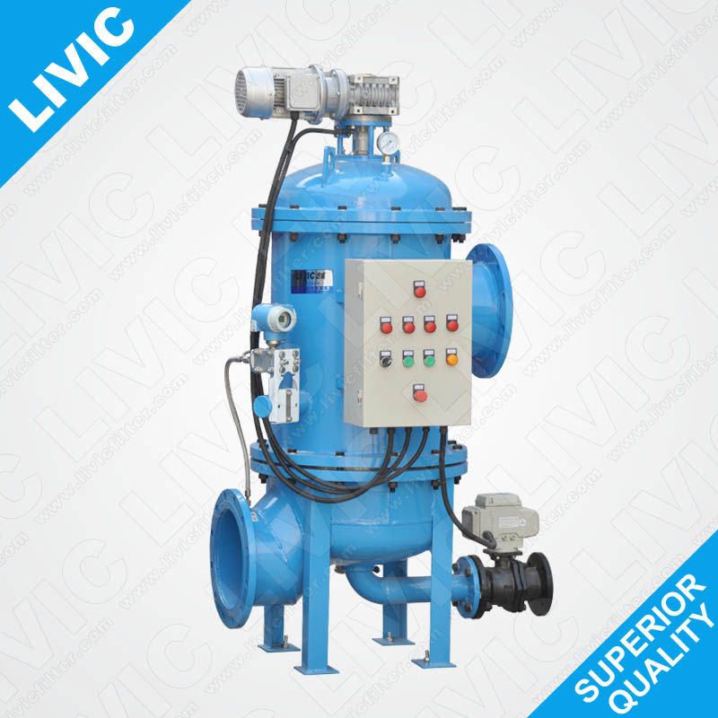 0807632 Fish Farms Plant Water Backflush Automatic Filter