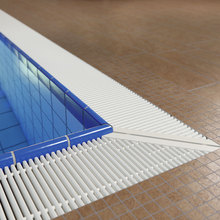 Customize SPA Fountain Plastic Grating Grid Grate Drain Cover Swimming Pool Overflow Grating