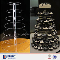 7 tier acrylic wedding cake stand