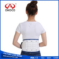 2017 New Arrival Medical back belt Waist Support Lower Lumbar Brace upper back support belt to Relieve Neck Pain