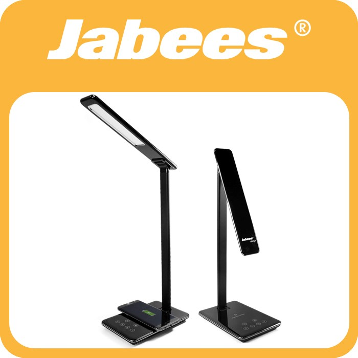 Jabees New Arrival Smart Adjustable Battery Wireless LED Table Lamp with Base Switch