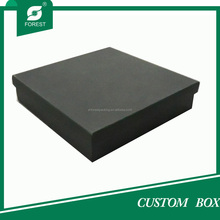 FACTORY CUSTOM BLACK DVD GIFT BOX WITH LID