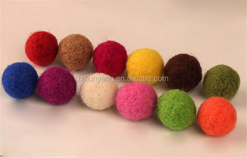 felt ball garland cushion felt christmas decoration balls wool felt ball