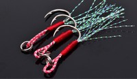 Specialized Saltwater BKK Assistant Fishing Hook Jigging Hook Stainless Steel Fish hook
