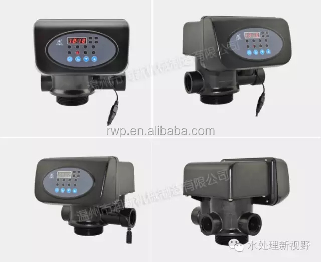 automatic softener control valve with led display (F65B3 63602)