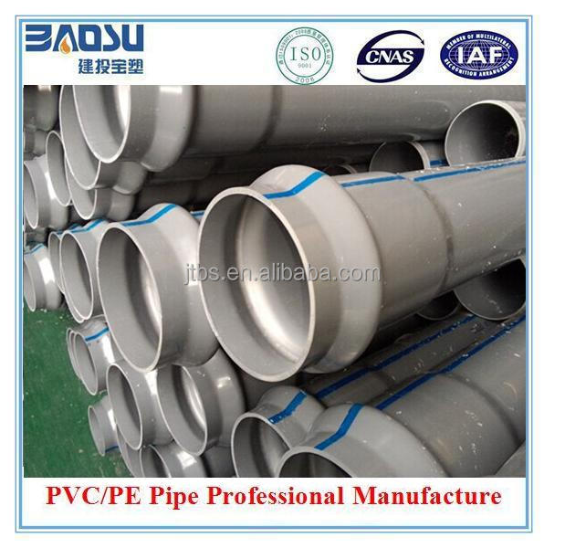 UPVC 8 and 30 inch Pvc Pipe irrigation Pipe Diameter