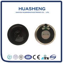 Good quality round shape powered thin 8ohm,0.5w,40mm mylar speaker