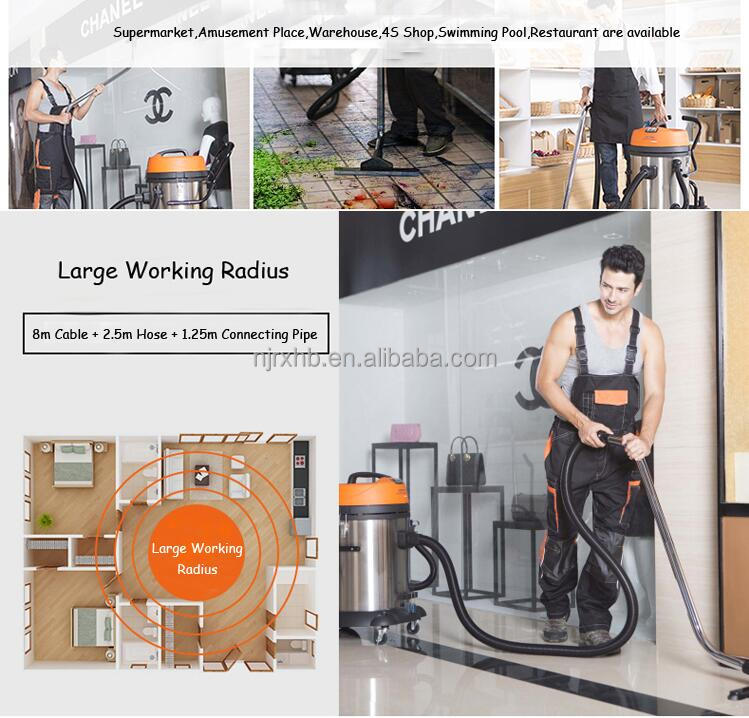 New Design 2400W Vacuum Cleaner Wet And Dry Dual Use Auto With two motors