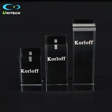Table Logo Sign Frosted Acrylic Display Cube Acrylic Table Iogo Sign Iucite Block Display Acrylic Table Iogo Sign