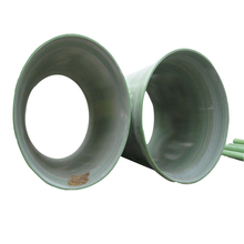 Green drainage reinforced plastic mortar pipe/ Glass fiber winding tubes/RPM Pipe