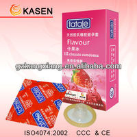OEM ODM male latex condom with ISO CE SABS FSC certificate