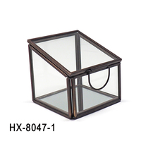 HX-8047 Wholesale Cheap Jeweled Marble Antique Trinket Box