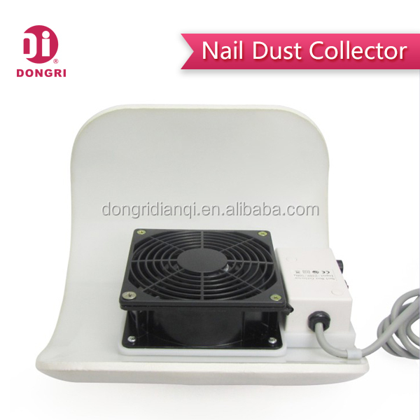 DR-238W 23W Nail Dust Collector Vacuum with 3 Dust Collecting Bags,Muti-colors, Camber Shape