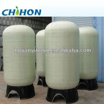 36*72 PE liner frp tanks for water treatment system