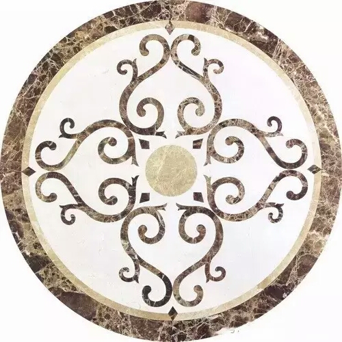 Brand new round tile floor medallion with cheapest price