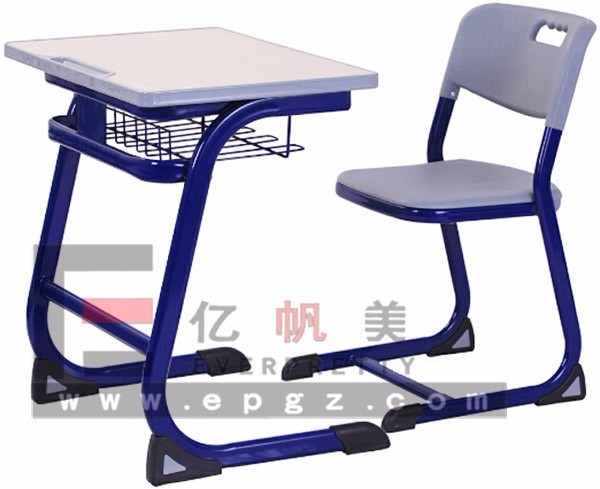 Cheap Price for Adult Student Tables and Chairs , Red Frame Chairs and Tables of School Furniture
