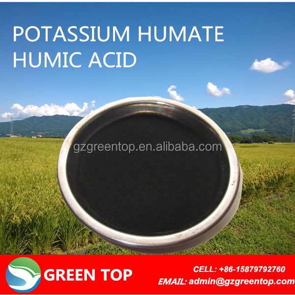 humic acid helps in aeration of soil