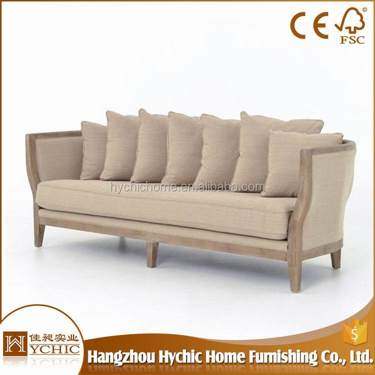 Popular unique corner wooden fabric excellent classic sofa sets